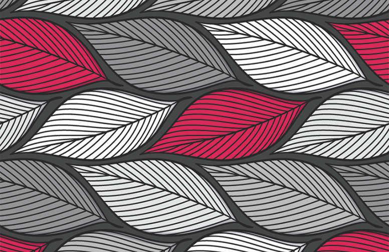 3D Ковры 3D Ковер «Абстрактный листопад» вид 1