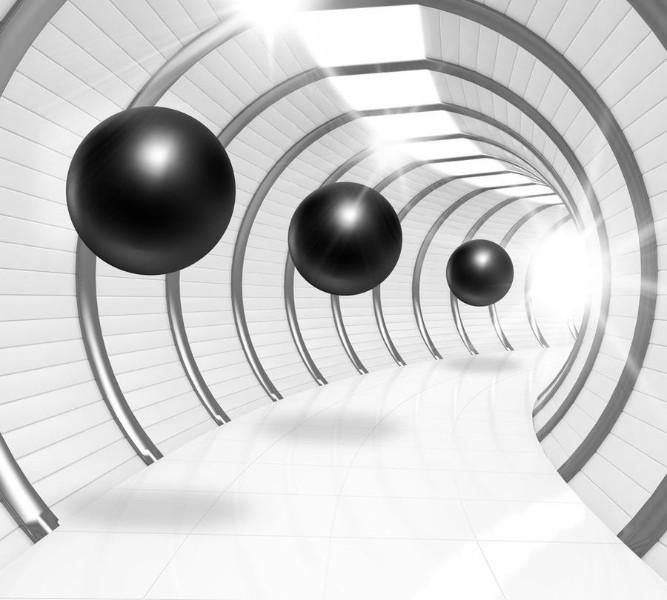 Фотошторы «Футуристичный тоннель»