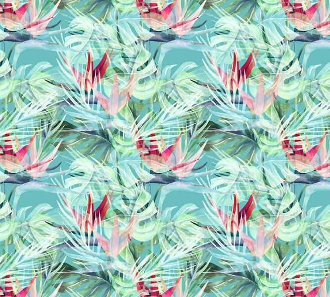 Фотошторы «Гавайские цветы» вид 1