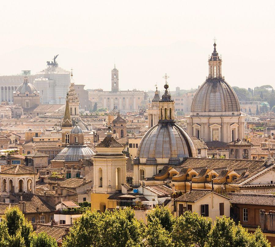 Фотошторы «Крыши Рима» вид 1
