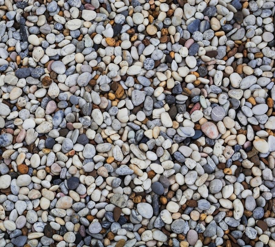 3D Фотообои Фотошторы «Прибрежные камни»