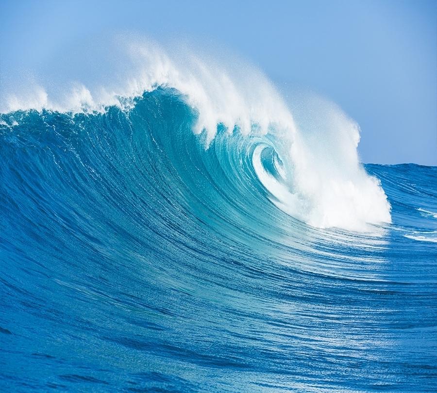 3D Фотообои Фотошторы «Море»