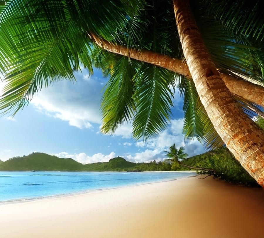 Фотошторы «Пляж» вид 1