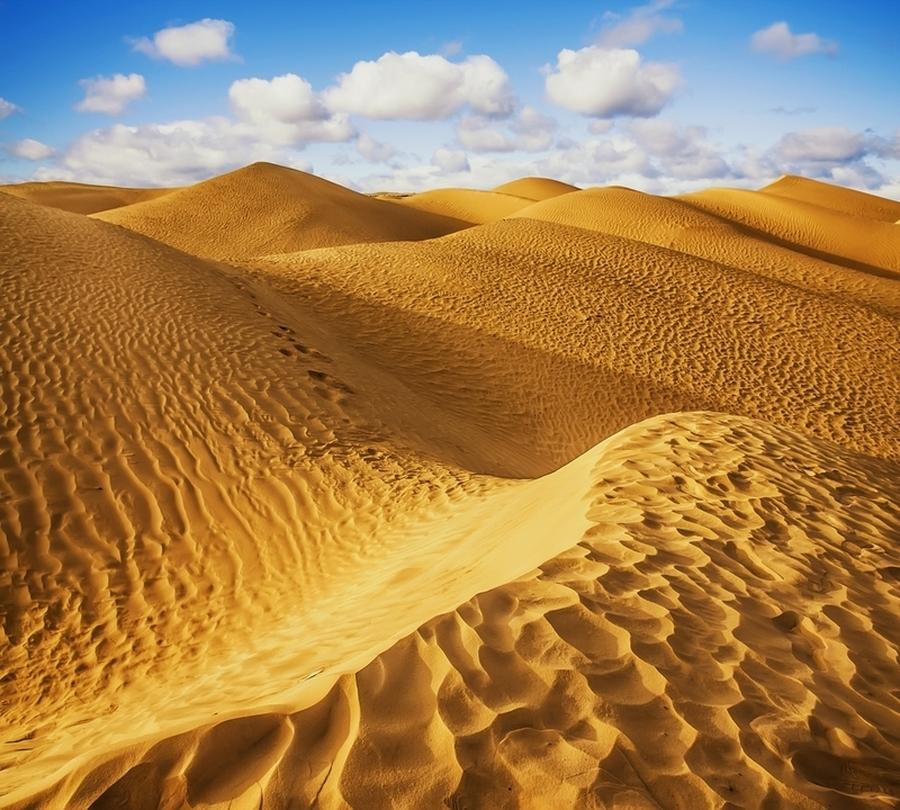 3D Фотообои Фотошторы «Пески пустыни»