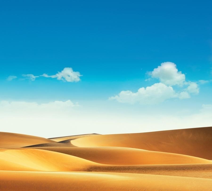 Фотошторы «Пейзаж в пустыне» вид 1