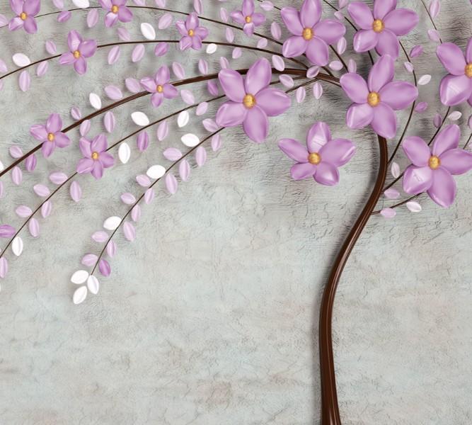 Фотошторы «Весенняя сакура» вид 1