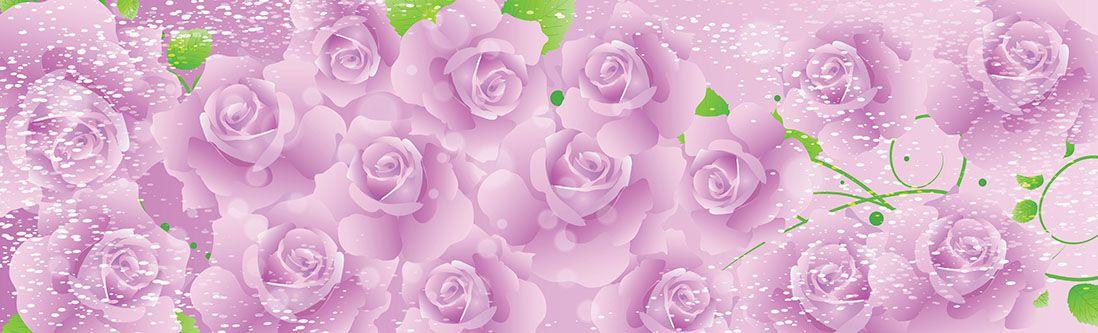 Модульная картина «Бутоны нежных роз в сиянии»