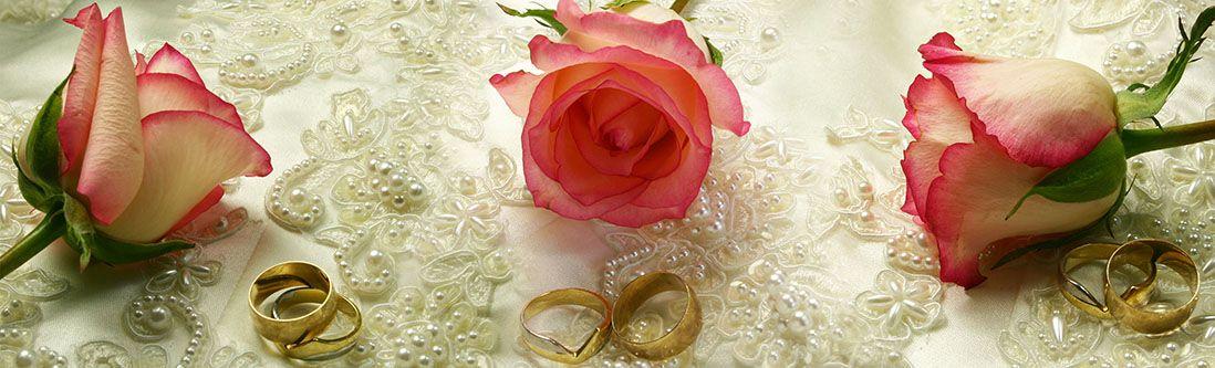 Модульная картина «Розы и кольца»