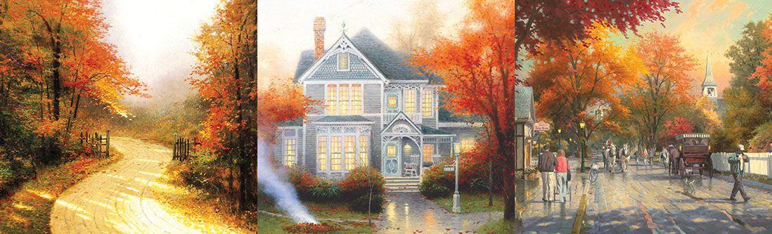 Модульная картина «Сказочная осень»
