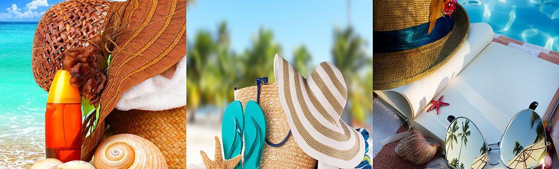 Модульная картина «Пляжный сезон»