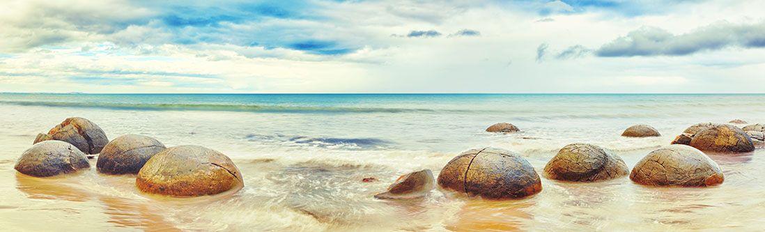 Модульная картина «Камни в море»