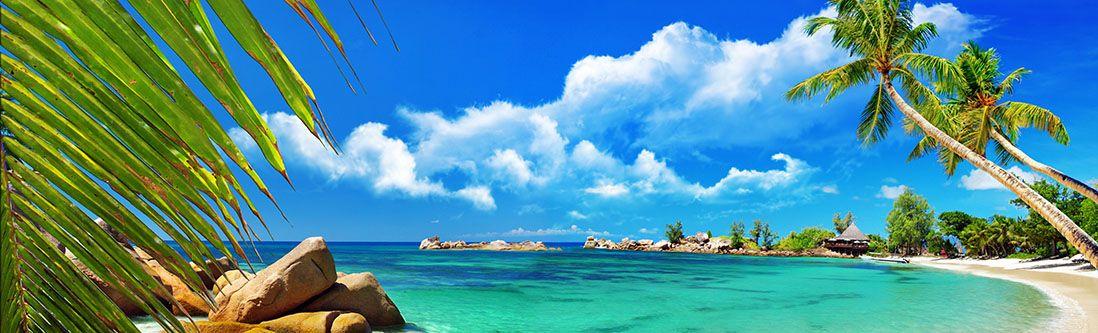 Модульная картина « Курортное побережье»