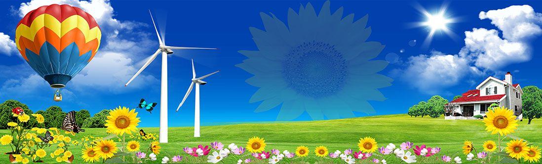 Модульная картина «Красочный летний день»
