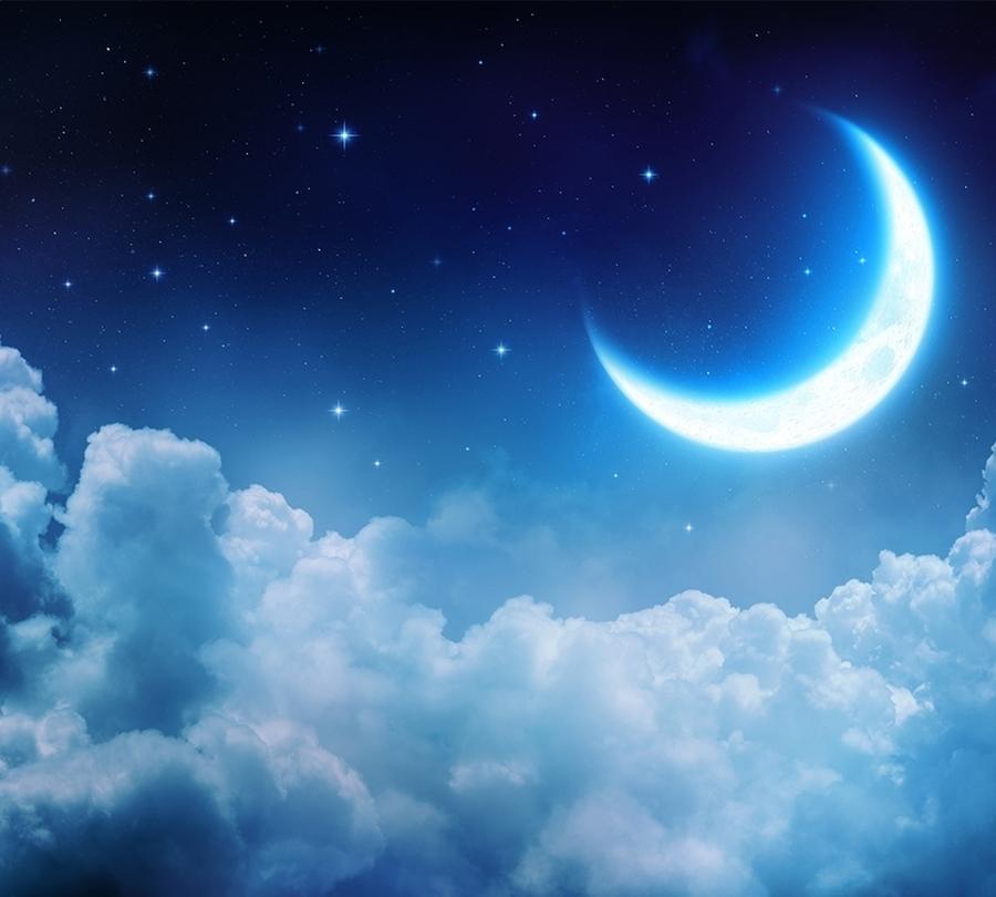 Мягкий плед «Ночная луна» вид 2
