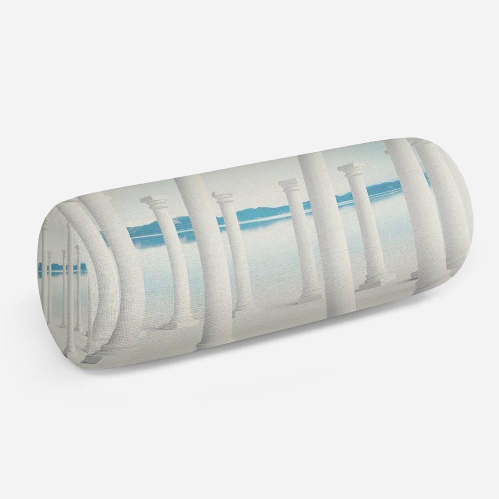 3D подушка-валик «Белоснежные колонны»