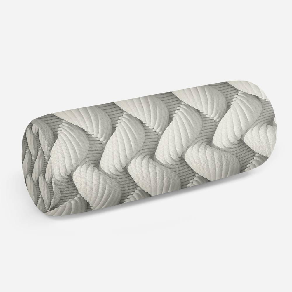 3D подушка-валик «Объемное пререплетение»