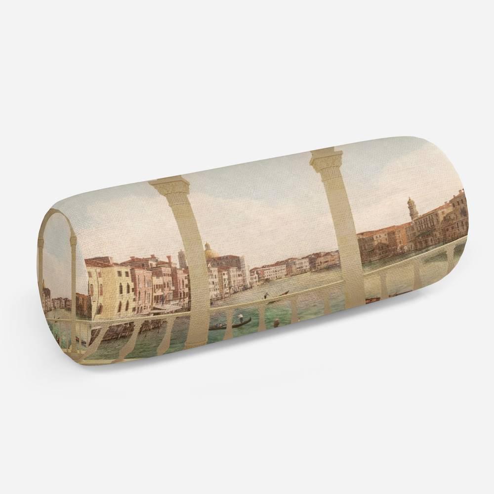 3D подушка-валик «Балкон в Венеции»