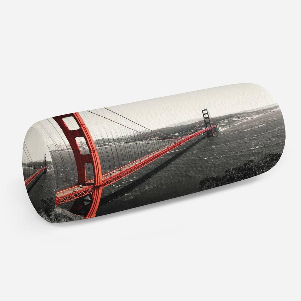 3D подушка-валик «Золотые ворота Сан-Франциско»