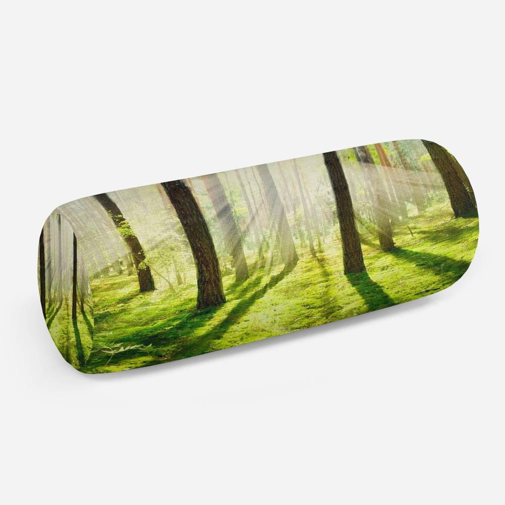 3D подушка-валик «Солнечный лес»