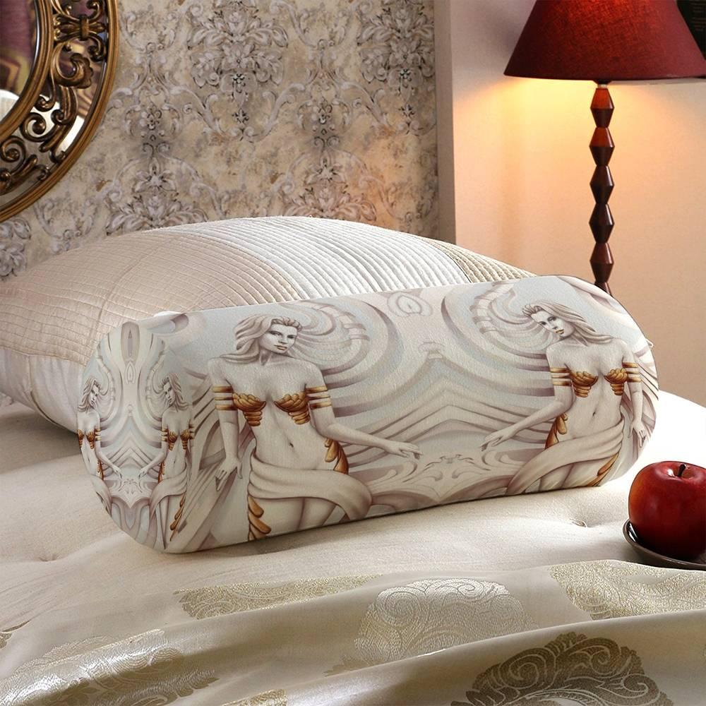 Декоративная вытянутая подушка «Барельеф с сиренами» вид 5