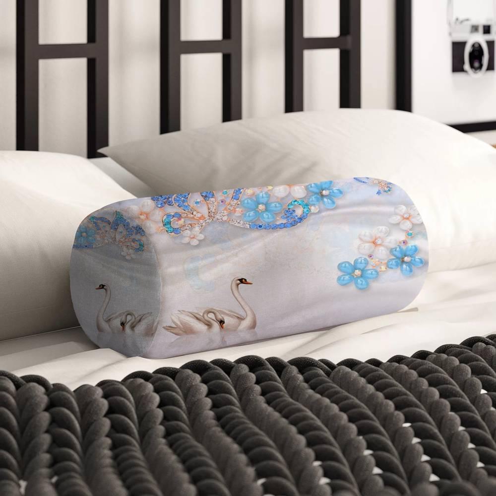 Интерьерная подушка для дивана «Ювелирная композиция» вид 2
