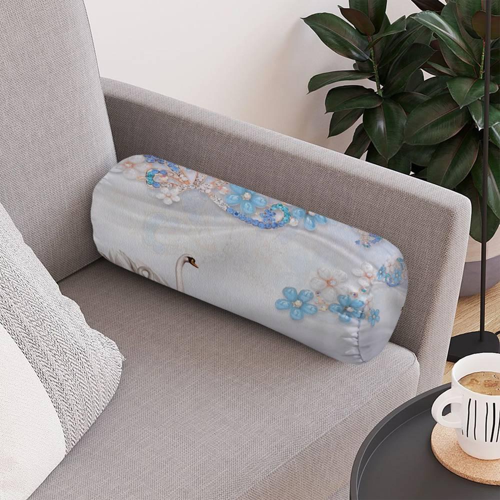 Интерьерная подушка для дивана «Ювелирная композиция» вид 4