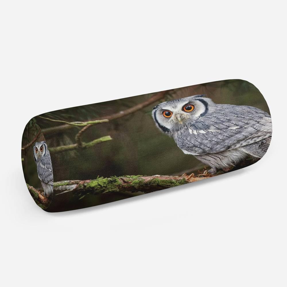 3D подушка-валик «Симпатичная сова»