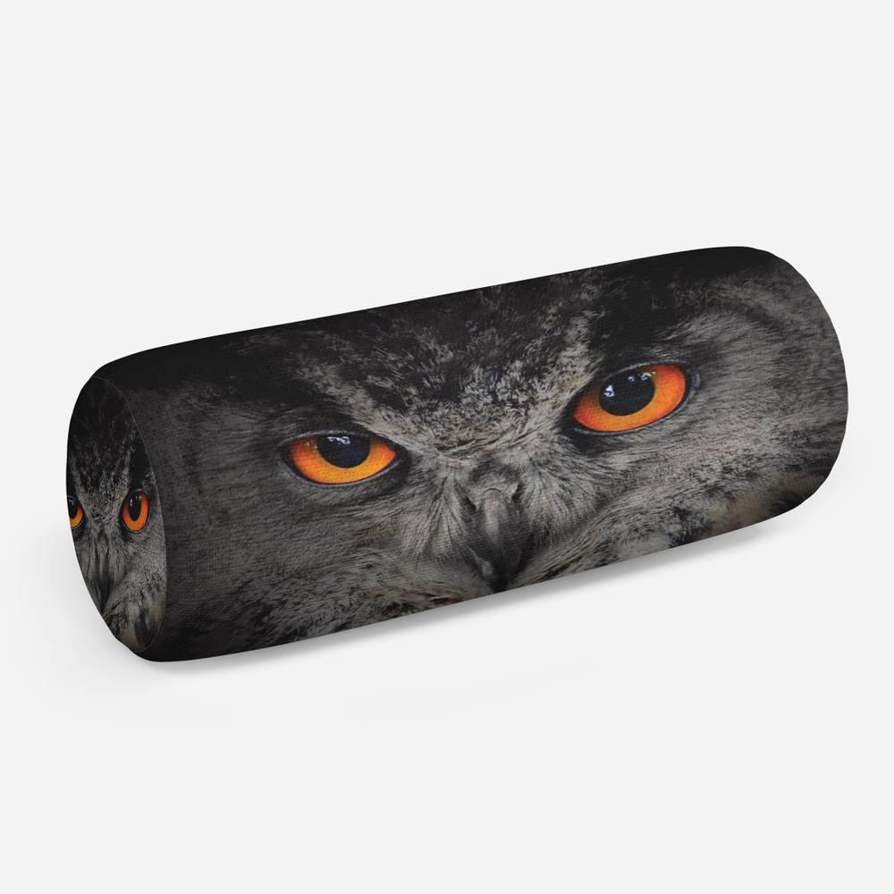 3D подушка-валик «Совиный взгляд»