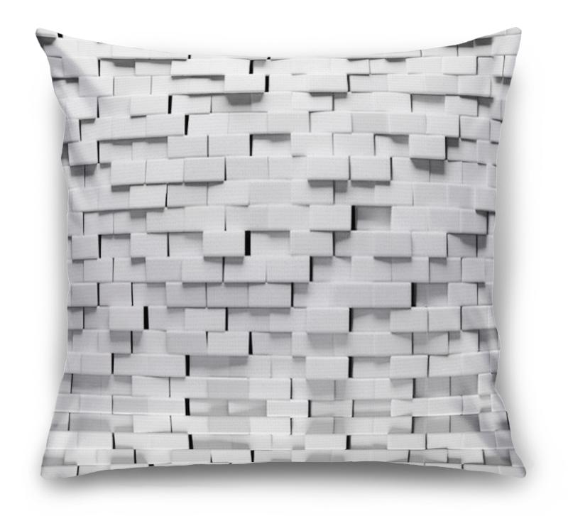3D Подушка «Объемные блоки» вид 1