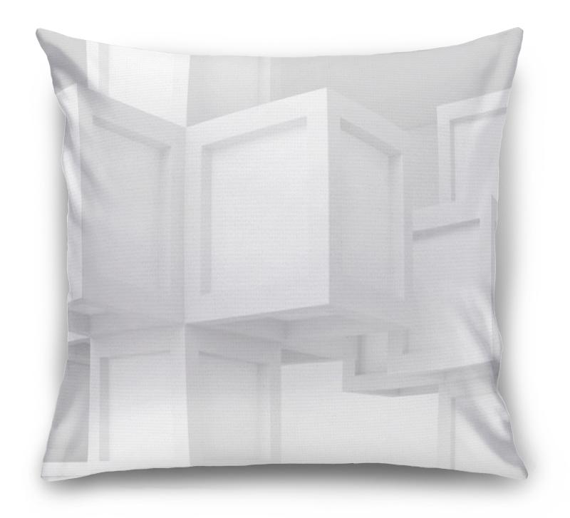 3D Подушка «Кубическая абстракция» вид 1