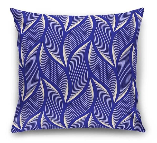 3D Подушка  «Пурпурное золото» вид 1