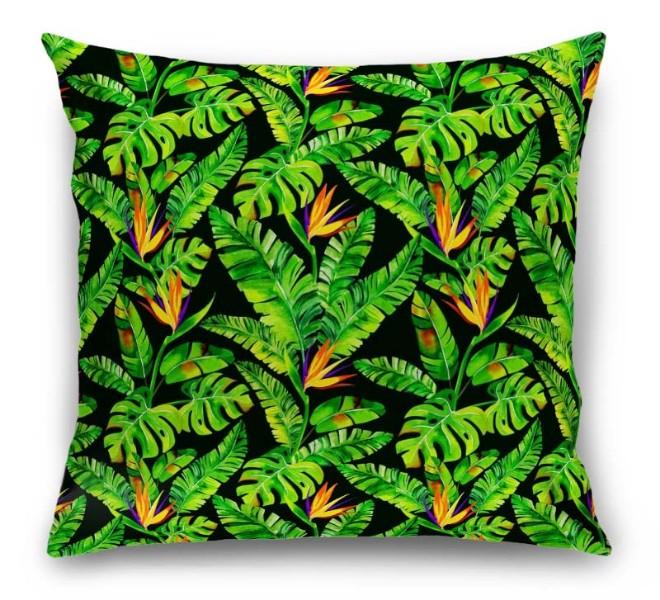 3D Подушка «Карибские джунгли» вид 1