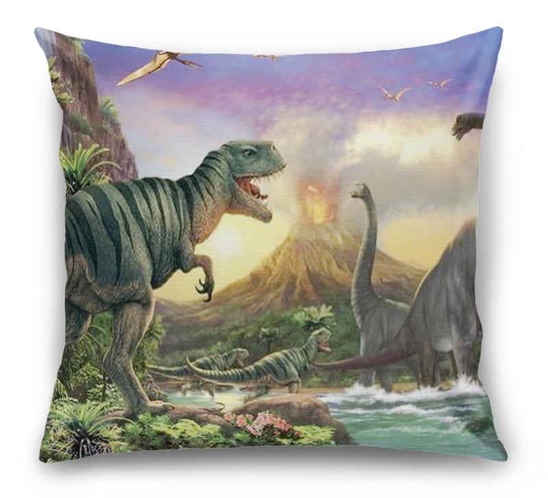 3D Подушка «Величественные динозавры» вид 1