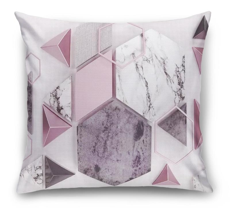 3D Подушка «Волшебная геометрия»