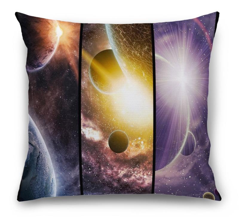 3D Подушка «Галактика: Планеты»  вид 1