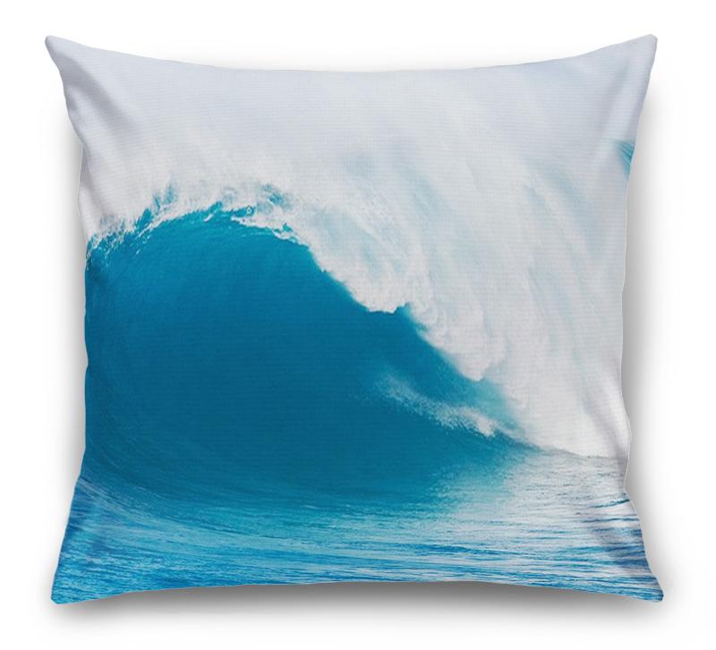 3D Подушка «Волна»  вид 1