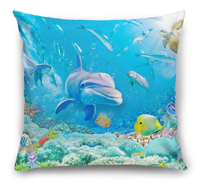 3D Подушка «Вид из глубины» вид 1