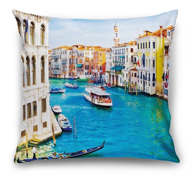3D Подушка «Венеция: канал Ла-Джудекка»  вид 6