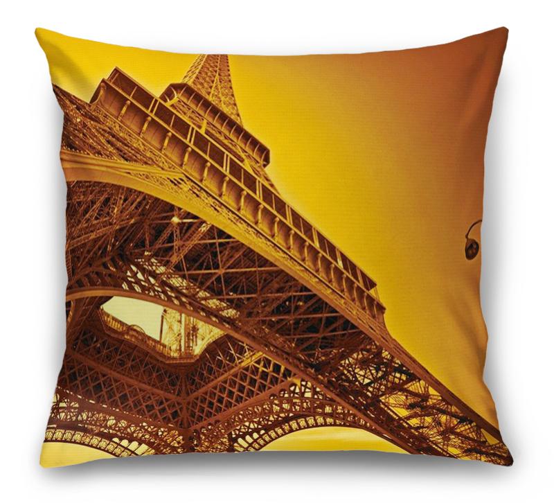3D Подушка «Париж» вид 1