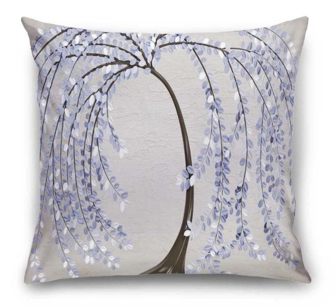 3D Подушка «Лавандовые лепестки» вид 1