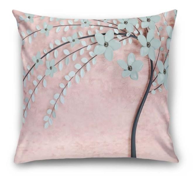 3D Подушка «Цветущее дерево» вид 1