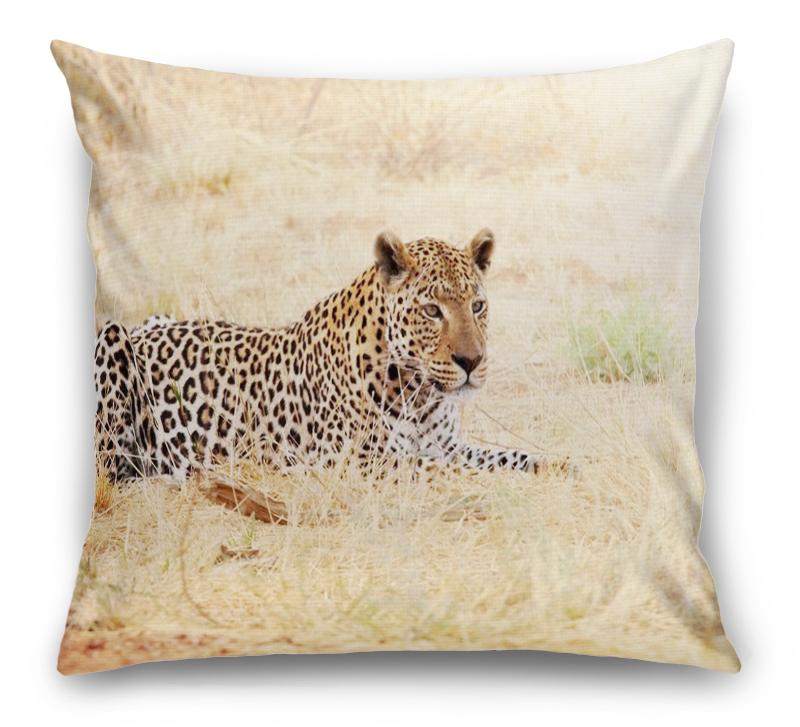 3D Подушка «Леопард» вид 1
