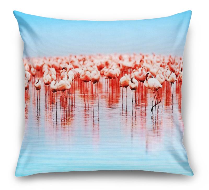 3D Подушка «Фламинго» вид 1