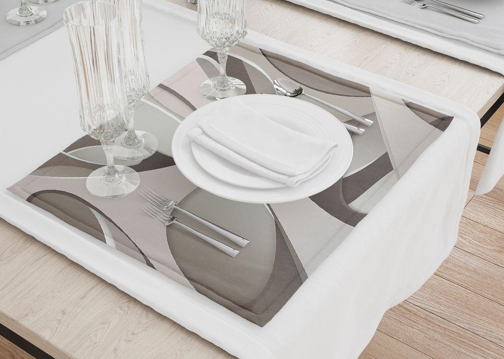 3D Фотообои Салфетки для столовых приборов «Удивительная абстракция»