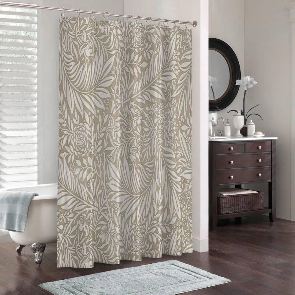 3D штора для ванны «Сдержанная красота» вид 3