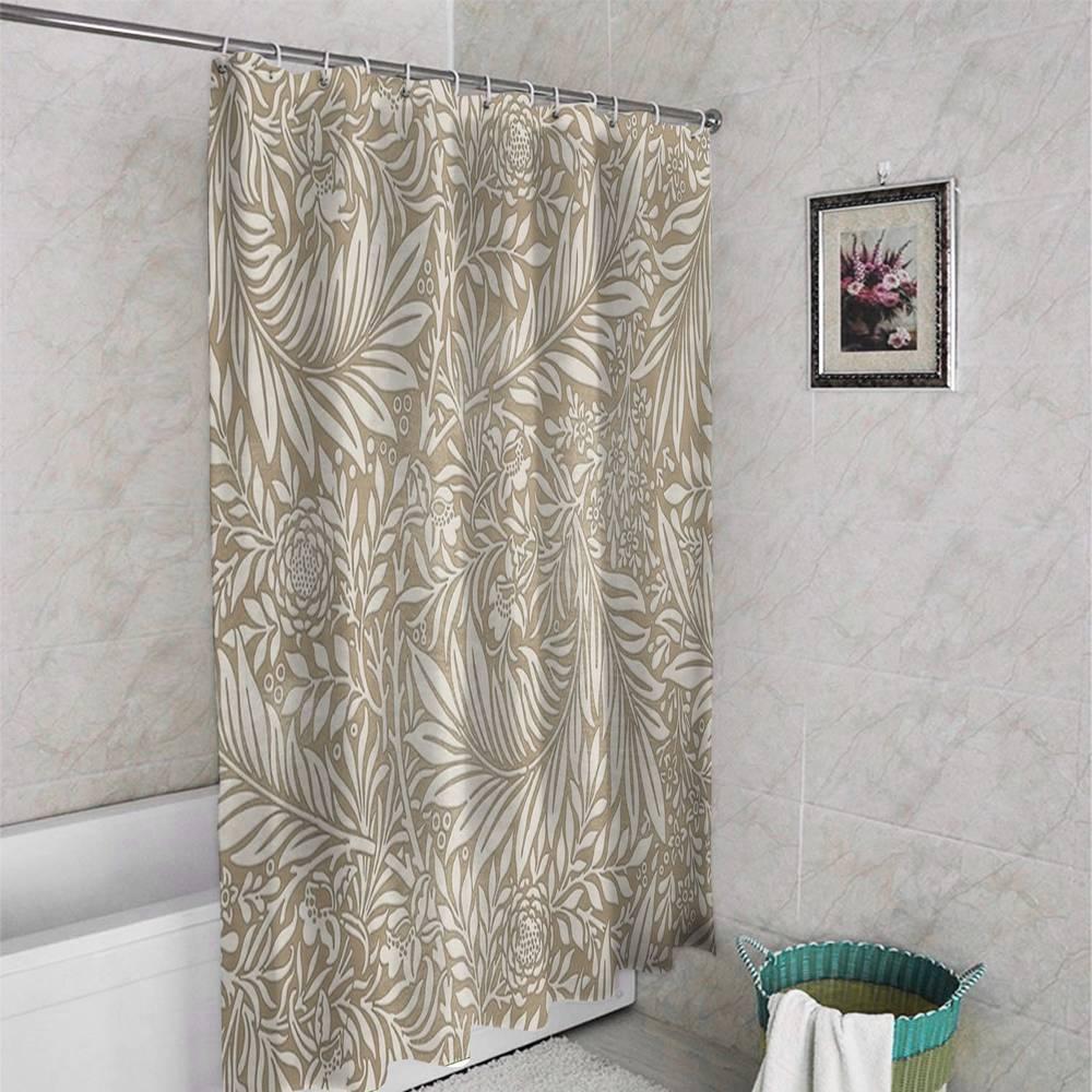 3D штора для ванны «Сдержанная красота» вид 4