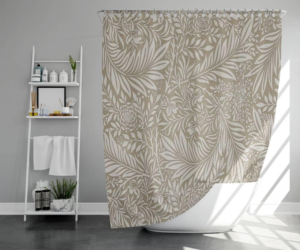 3D штора для ванны «Сдержанная красота» вид 5