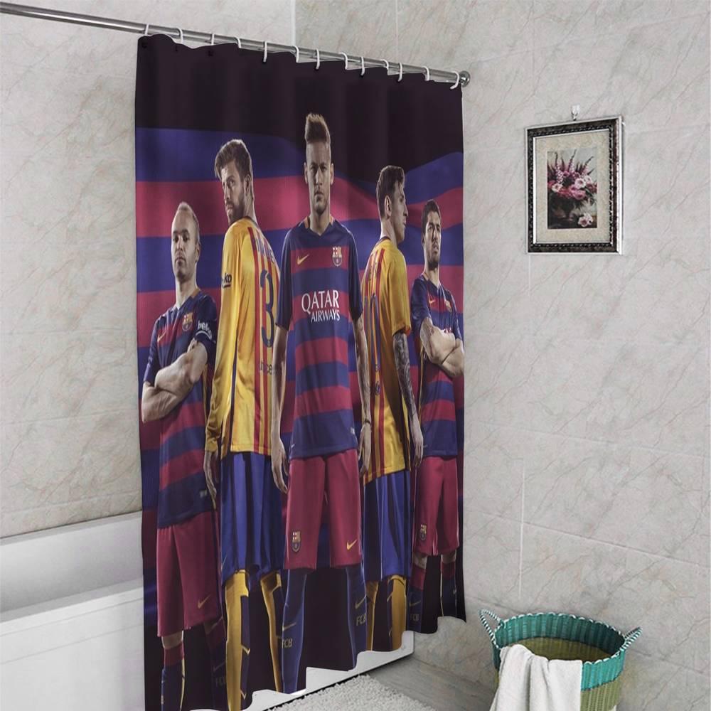 Занавеска для ванной «Барселона» вид 4