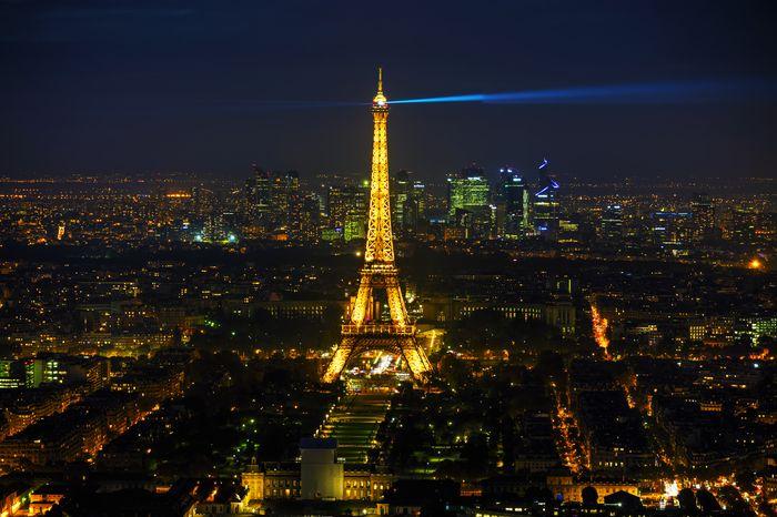 3D Фотообои 3D Фотообои «Ночь в Париже»
