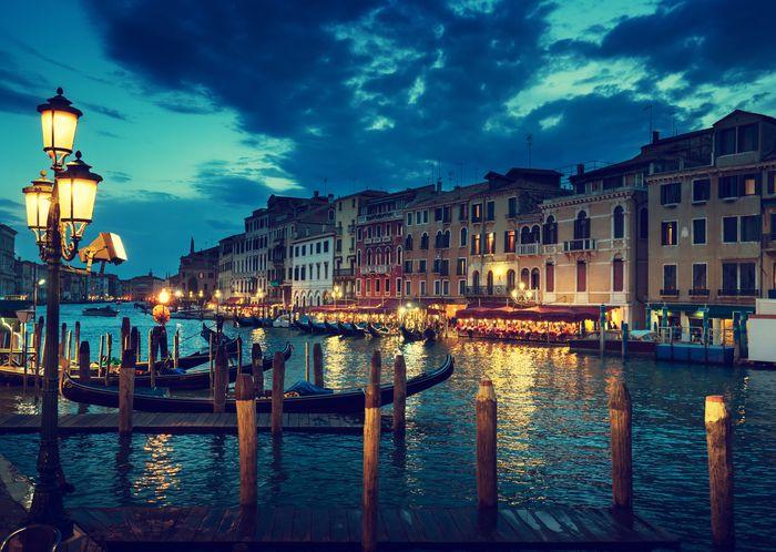 3D Фотообои «Вечерняя Венеция»